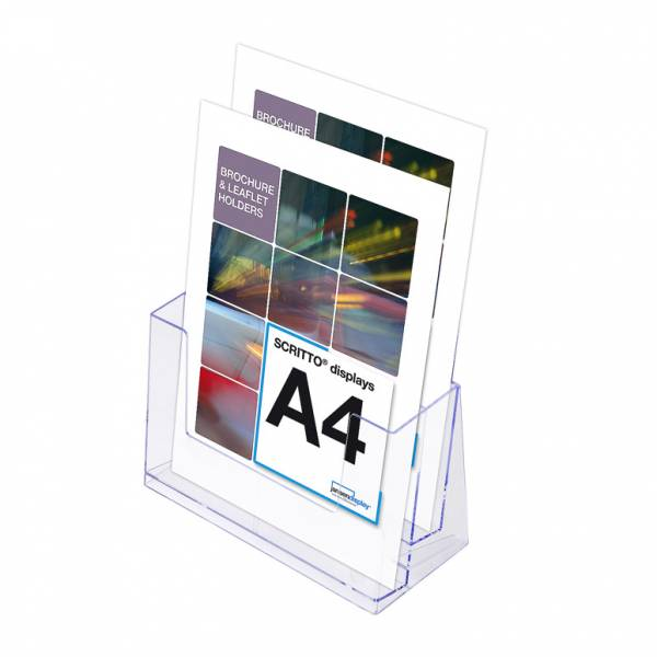 SCRITTO Stojánek na letáky formátu A4, 2kapsy