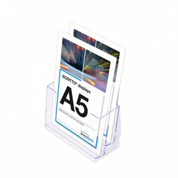 SCRITTO Stojánek na letáky formátu A5, 2 kapsy