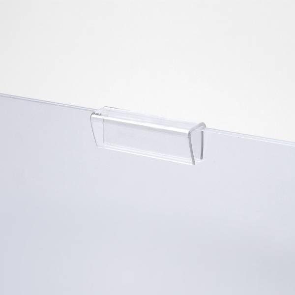 Svírací klip na plexi kapsy