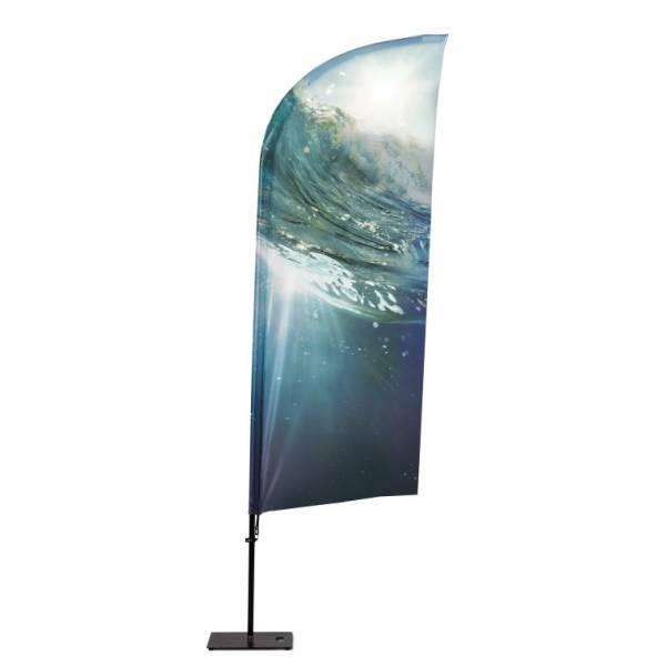 Beachflag Alu Wind 360cm Total Height Luxurious Ba