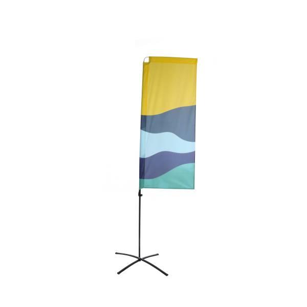Reklamní ekonomická vlajka obdélníková