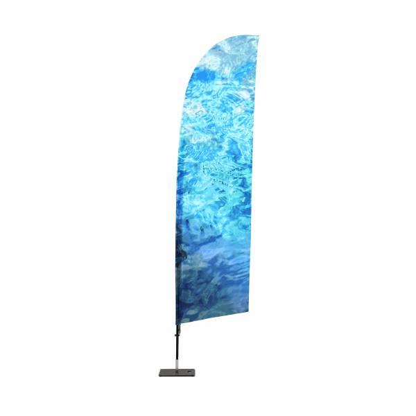 Tisk pro reklamní vlajky Křídlo XL
