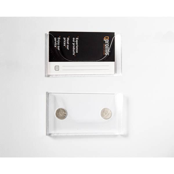 Brochure-Holder Magnetic Businesscard