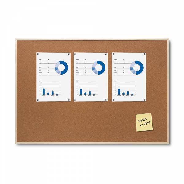 Korková tabule s dřevěným rámem, 600x900mm
