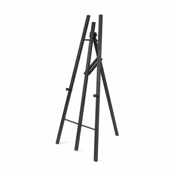 Dřevěný stojan pro křídové tabule, černý
