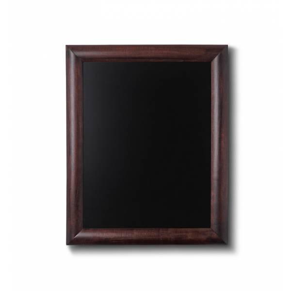 Křídová tabule 30x40, tmavě hnědá
