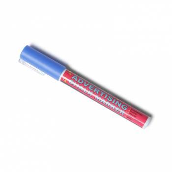 Křídový popisovač  - modrý (3mm)