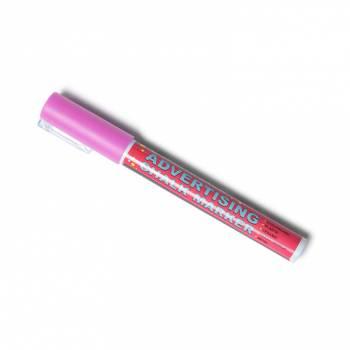 Křídový popisovač  - růžový (3mm)