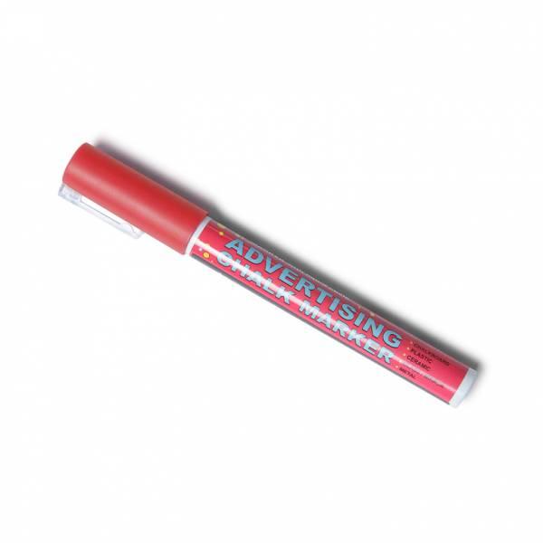 Křídový popisovač  - červený (3mm)