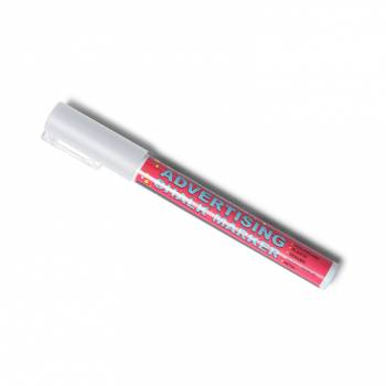 Křídový popisovač  - bílý (3mm)