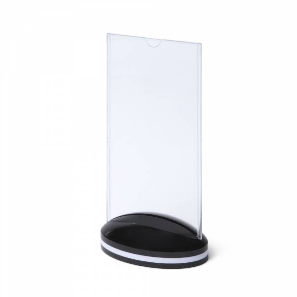 SCRITTO Plastový menu stojánek 10x20cm