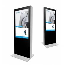 Digitální oboustranný totem s monitory Samsung