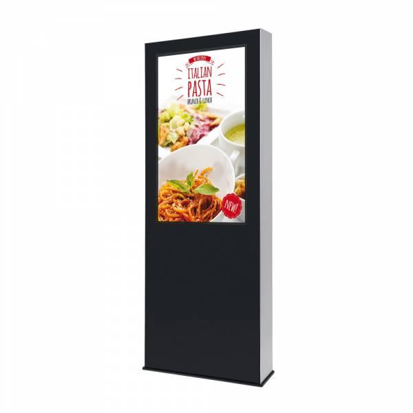 """Venkovní digitální totem s monitorem Samsung 46"""", černý"""