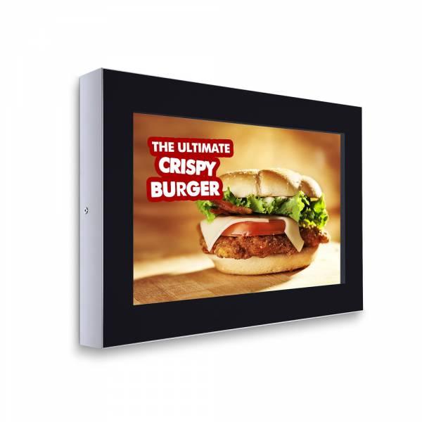 """Digitální panel na zeď 32""""-horizontální, RAL9005 černý, bez monitoru"""