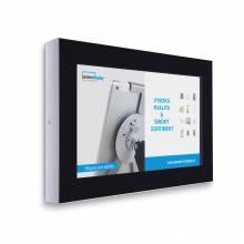 """Digitální panel na zeď 32"""", RAL9005 černý, bez monitoru-zboží"""