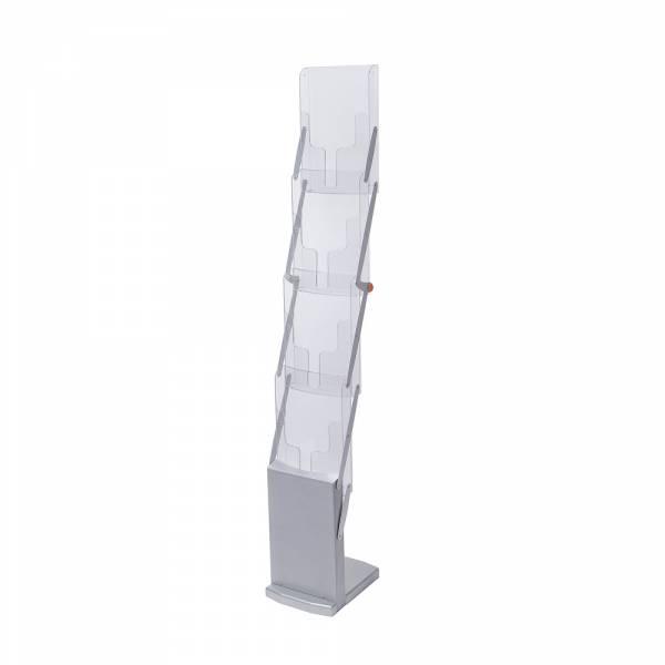 Skládací stojan na letáky a katalogy
