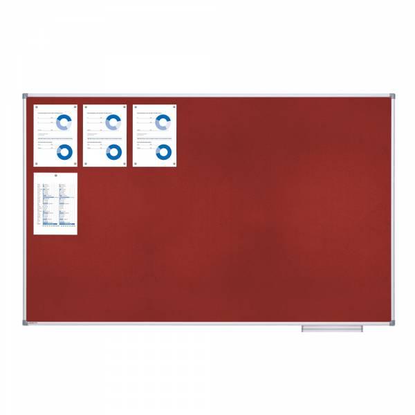 textilní tabule 120X180 červená