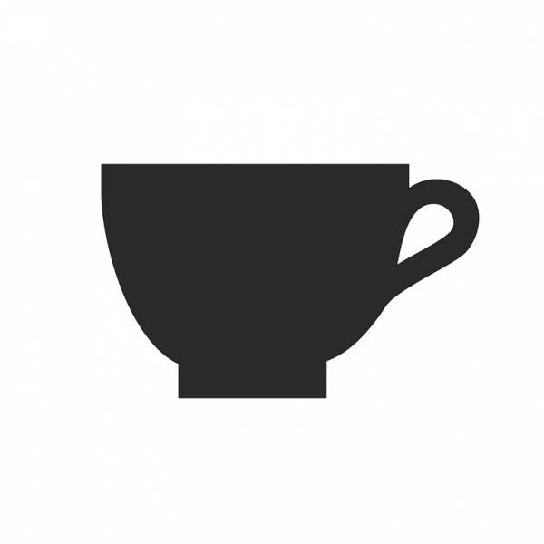 Deska HPL černá popisovatelná, Kavárna, 100mm