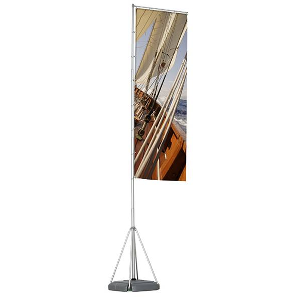 Flagpole 540cm, Box 1 Pole