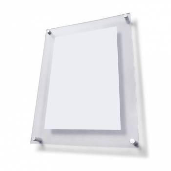 Plexi tabule  A4 s ozdobnými šrouby FS25