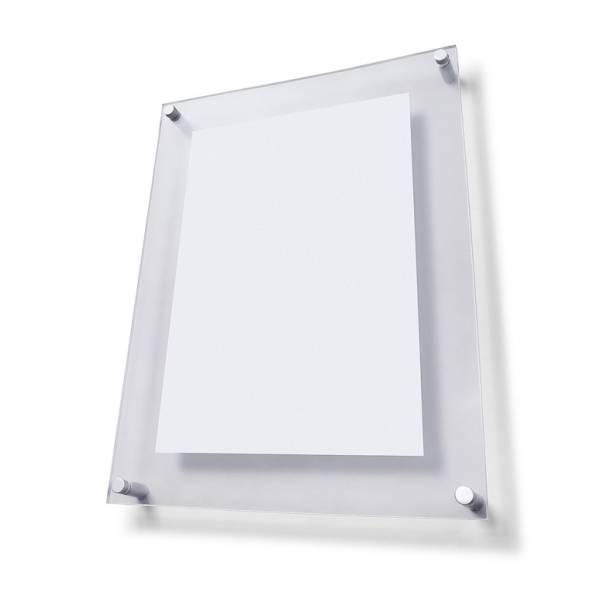 Plexi tabule  A4 s ozdobnými šrouby FS20