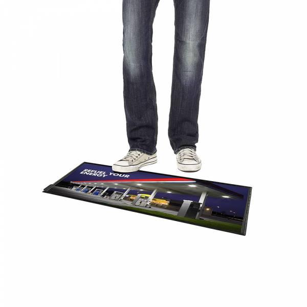 Podlahový plakátový systém FloorWindo, formát 4xA4