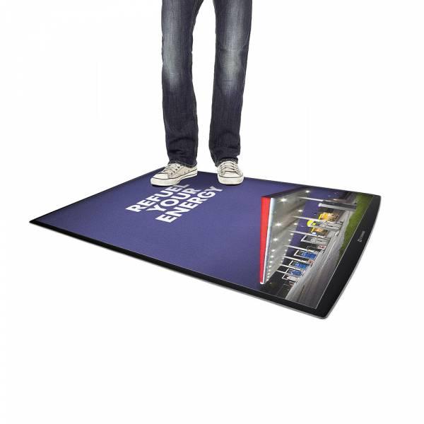 Podlahový plakátový systém FloorWindo, formát A1