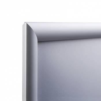 Klaprám A0, ostrý roh, profil 25mm, atest B1