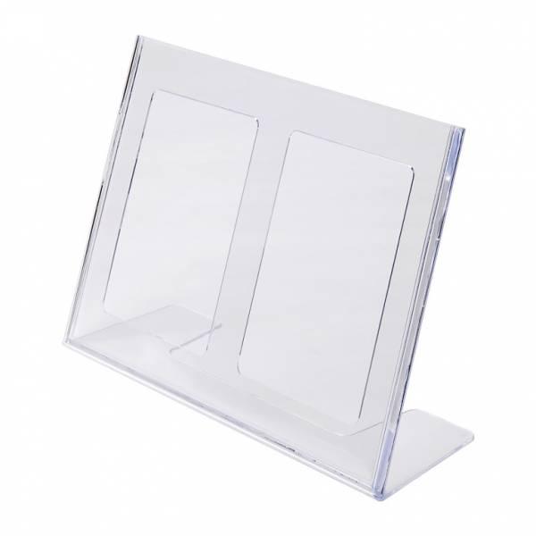 Plastový stojánek tvaru L economy SCRITTO