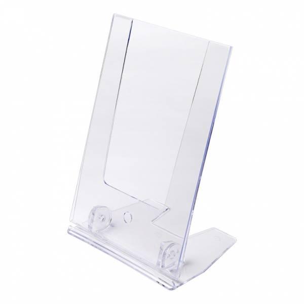 Nastavitelný plastový stojánek tvaru L economy SCRITTO