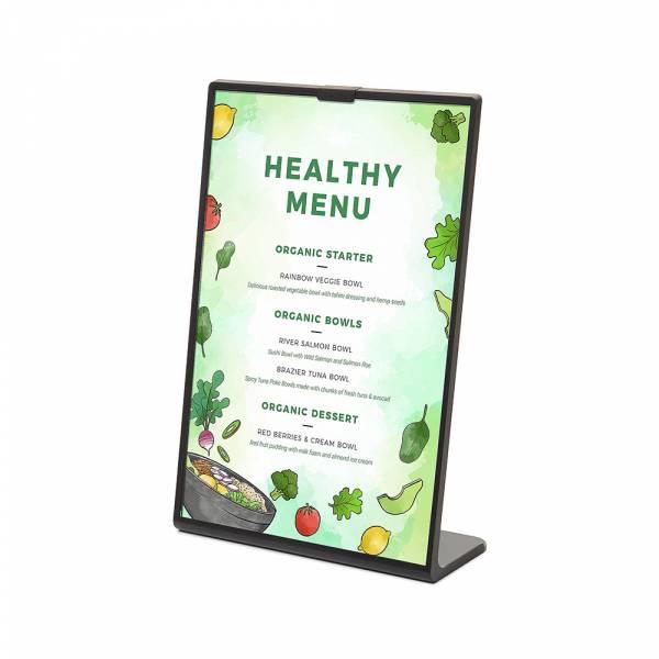 SCRITTO® barevný menu stojánek typu L