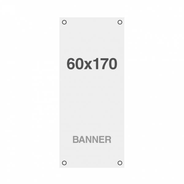 Ekonomický bannerový tisk Symbio 510g/m2, 600x1700mm, všitá oka