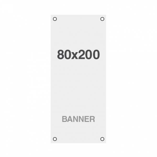 Ekonomický bannerový tisk Symbio 510g/m2, 800x2000mm, všitá oka