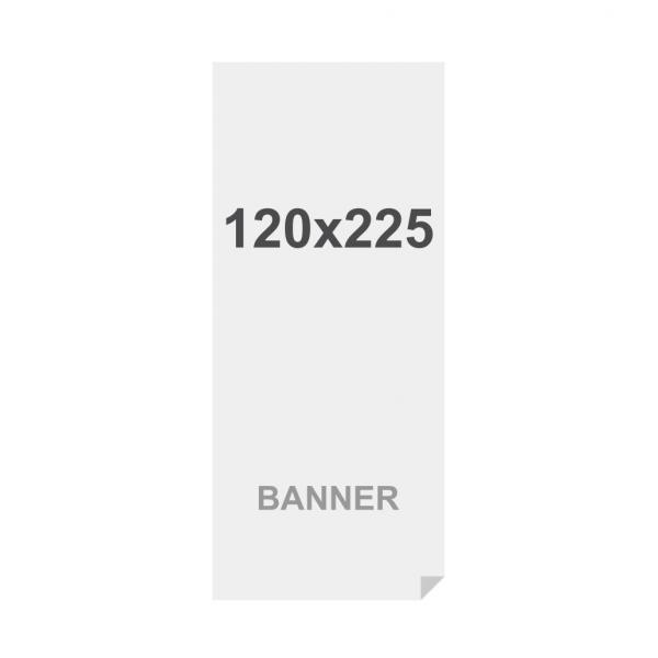 Prémiový bannerový na vícevrstvý materiál 220g/m2,matný povrch media 120x225cm, matt, 220 g m2
