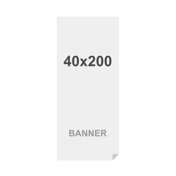 Prémiový bannerový na vícevrstvý materiál 220g/m2,matný povrch media 40x200cm, matt, 220 g m2