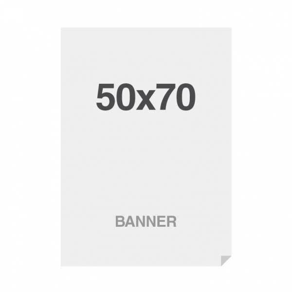 Prémiový bannerový tisk No Curl 220g/m2,matný povrch, 500x700mm