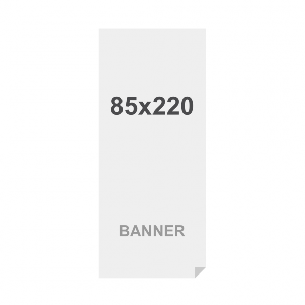 Latex Symbio frontlit 85x220cm, matt, 510g m2