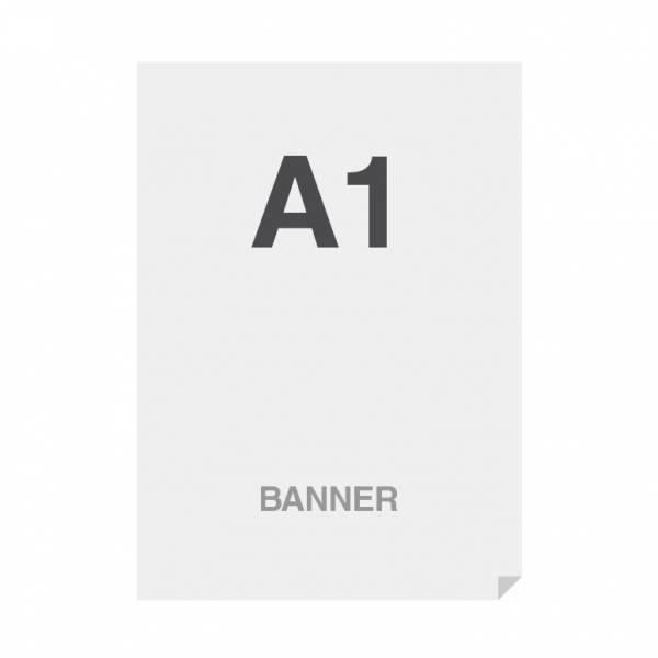 Prémiový bannerový tisk No Curl 220g/m2,matný povrch, A1 (594x841mm)