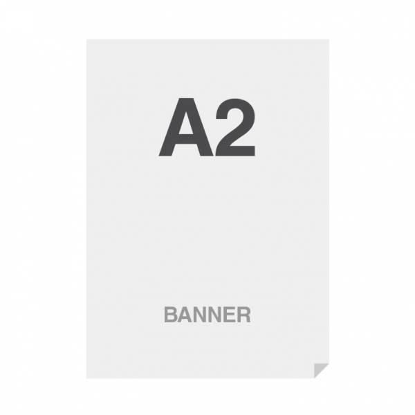 Prémiový bannerový tisk No Curl 220g/m2,matný povrch, A2 (420x594mm)