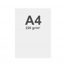 Prémiový bannerový na vícevrstvý materiál 220g/m2,matný povrch media A4 matt, 220 g m2