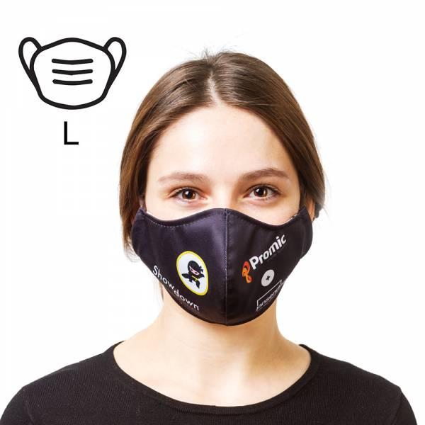 Bavlněná ochranná maska s vlastním brandingem- L