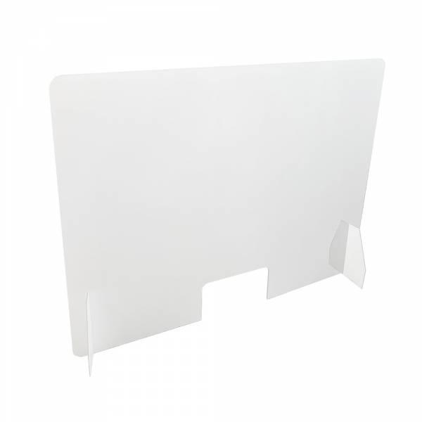 Ochranná plastová přepážka 100x75cm