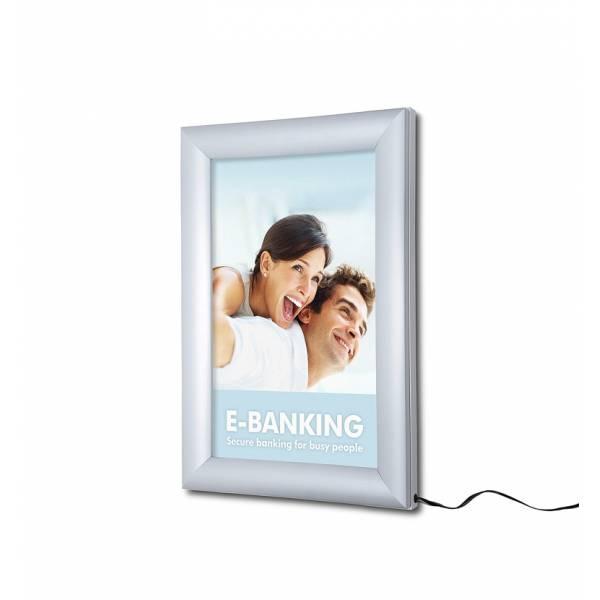 LED světelný rám, A4, laser-dotting