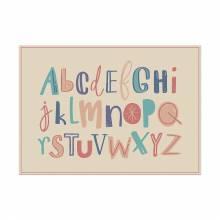 Placemat Alphabet