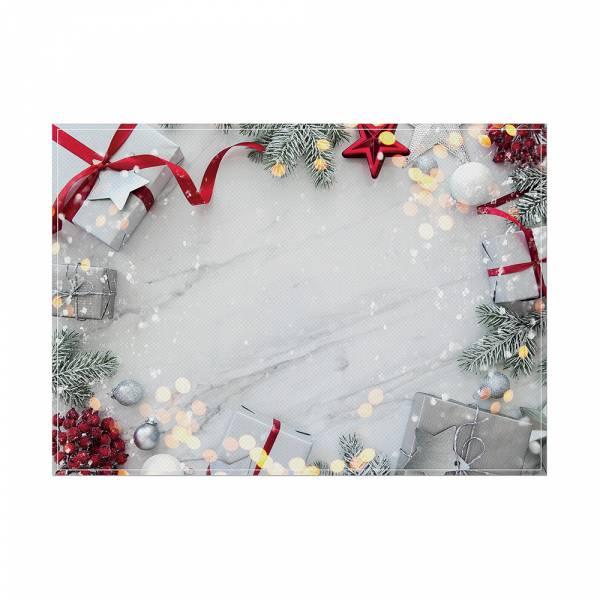 Prostírání Vánoční dekorace - sada 6ks
