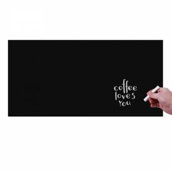 Nalepovací popisovatelná černá fólie, 450x1000