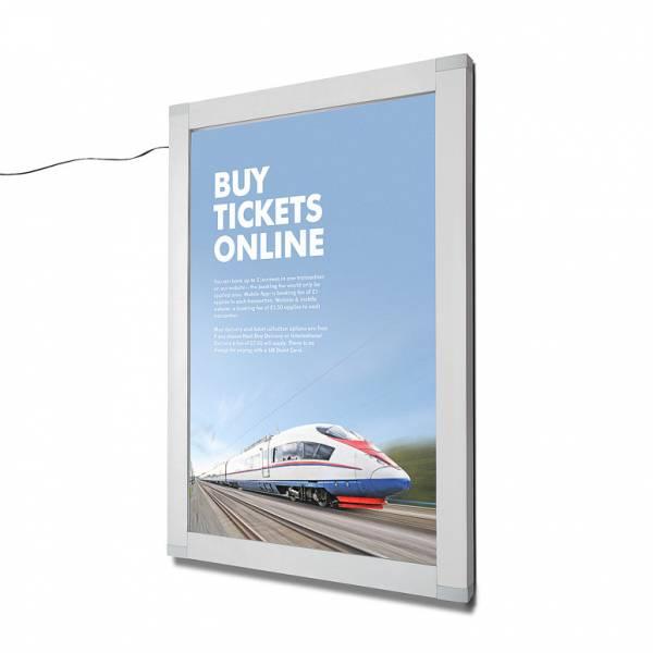 LED uzamykatelná plakátová vitrína OL 508x762 mm