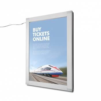 LED uzamykatelná plakátová vitrína OL 500x700 mm