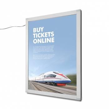 LED uzamykatelná plakátová vitrína OL 762x1016 mm