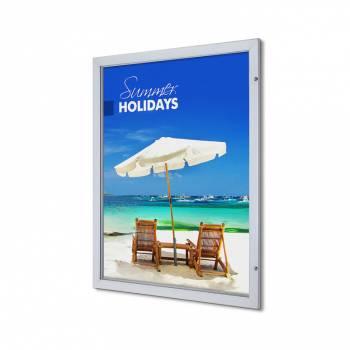 Interiérová uzamykatelná vitrína Premium 1016x1270 mm